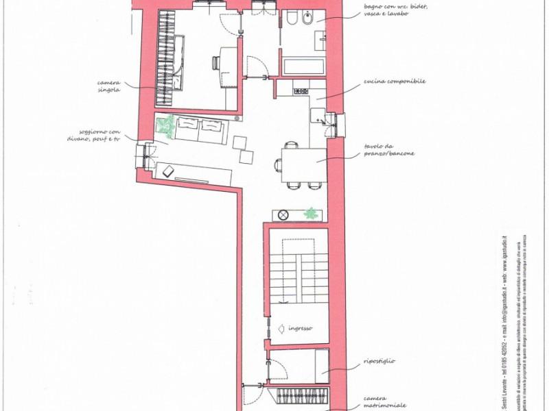 Appartamento  Vendita Sestri Levante  - Centro