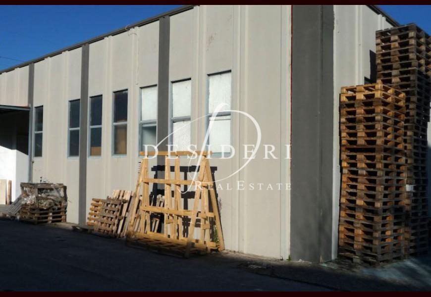 Capannone in vendita a grosseto aurelia nord rif d st2080 for Planimetrie capannone